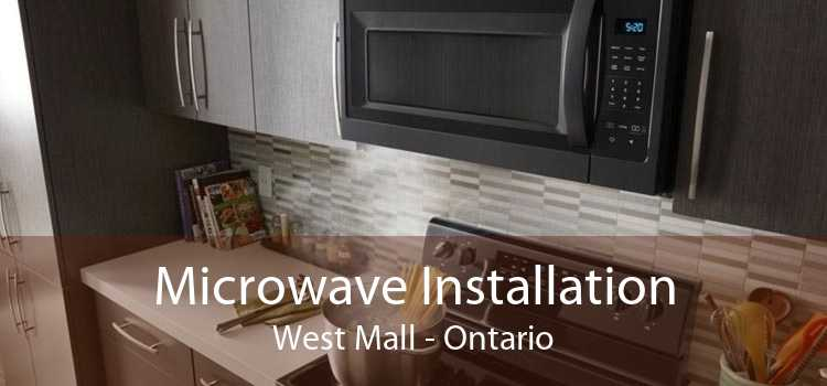 Microwave Installation West Mall - Ontario
